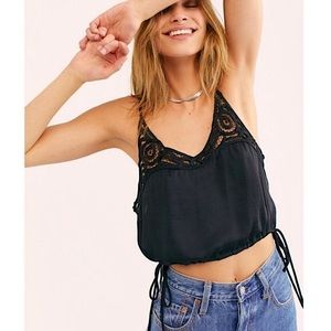 NWT Free People Cami Cropped Top
